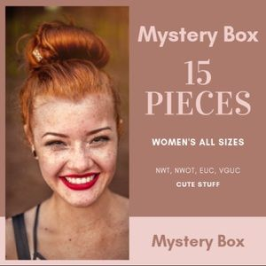 Reseller's Women's Mystery Box All Sizes Back for Lmtd Time While Supplies Last